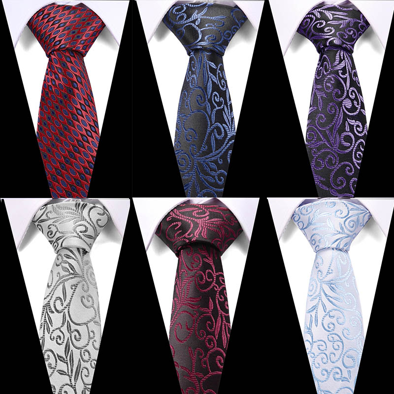 New Fashion Accessories Necktie High Quality 7.5cm Men Ties For Suit Business Wedding Casual Navy Black Red Pink Silver Blue Tie