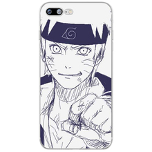 Anime Naruto TPU Case Cover For iphone 6 6s 7 8 Plus 5 5S SE X Xs Max Xr