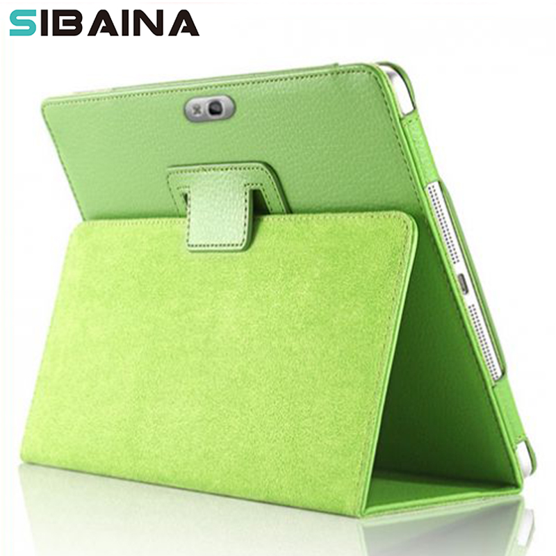 все цены на PU Leather Stand Cover Case for Samsung Galaxy Note 10.1 N8000 N8010 N8020 Smart Stand Funda Case Cover Protective Shell онлайн