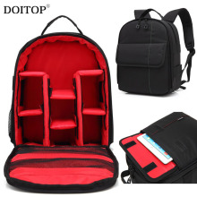 DOITOP Waterproof Multi-functional Backpack For Lenses Camera Lens Bag Travel Shoulder Bag Outdoor Laptop 15.6″ Video Case B3