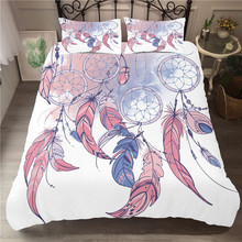 Bedding Set 3D Printed Duvet Cover Bed Set Dreamcatcher Bohemia Home Textiles for Adults Bedclothes with Pillowcase #BMW04