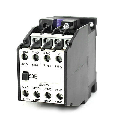 цена на JZC1-53 AC Contactor Type Relay 24V 50Hz Coil Voltage 3-Phase 5NO + 3NC