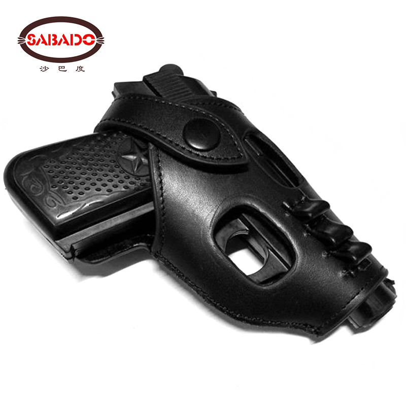 Cow Leather Cowhide Tactical Military Army Small Gun Holster Shooting Training Pistol Airsoft Hunting Accessories