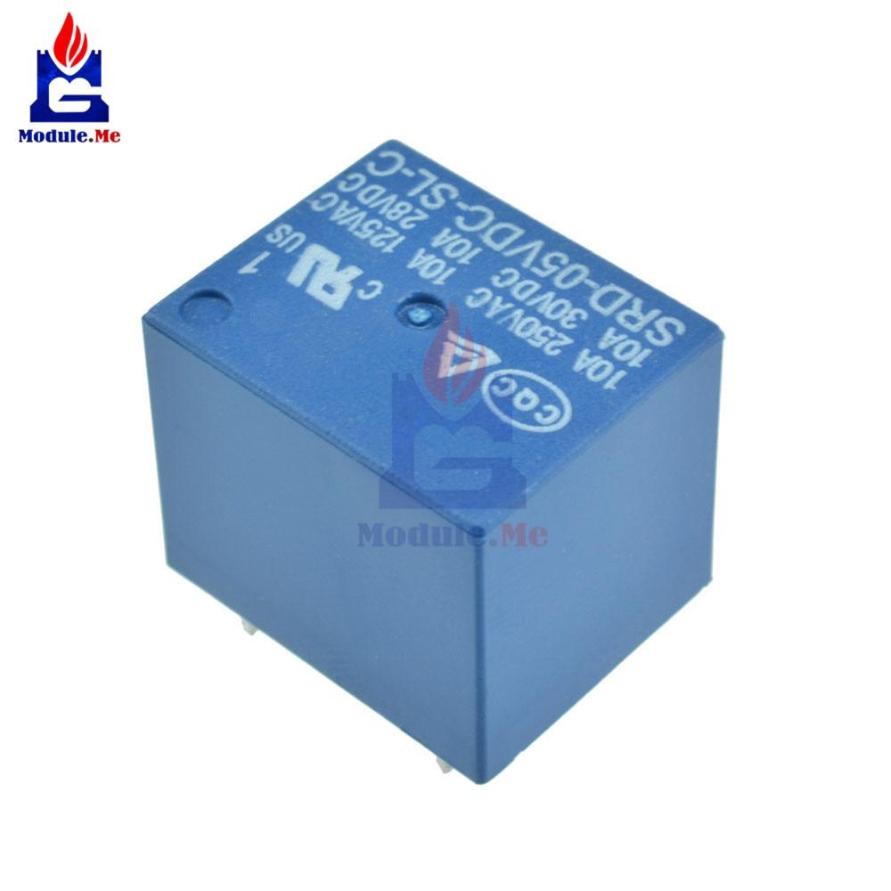 1x Neu 12V DC coil SONGLE Power Relais SRD-12VDC-SL-C PCB Type 5 Pin  X