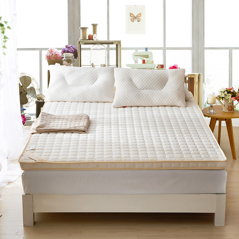 Fashion New Style High Quality 6 or 10cm Fast Rebound Folding Pure White Single Or Double Guesthouse Hotels Mattress Bedding бра alfa czajka venge 12900