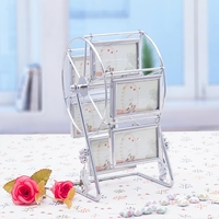 Creative Simple Modern 3 Inch Ferris Wheel Combination Photo Frame Pendulum Table Personality Wedding Gift
