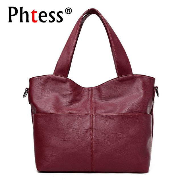 b8e3fc2caf 2018 Luxury Handbags Women Bags Designer Brand Sac a Main Ladies Hand Bag  Large Capacity Tote Bags Female Crossbody Shoulder Bag
