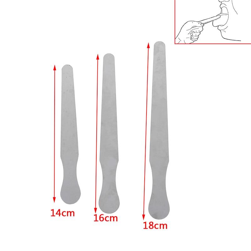 14/16/18cm Stainless Steel Waxing Wax Spatula Tongue Depressor Sticks Kit Skin Beauty Tool 1pc