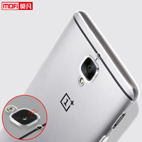 Oneplus 3 Cover Soft Original Mofi Oneplus A3000 Case Silicone Clear Ultra Thin Back Cover One