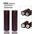 2PCS 100% Original for LG HG2 18650 3000mAh battery 18650HG2 3.6V discharge 20A, dedicated electronic cigarette Power battery