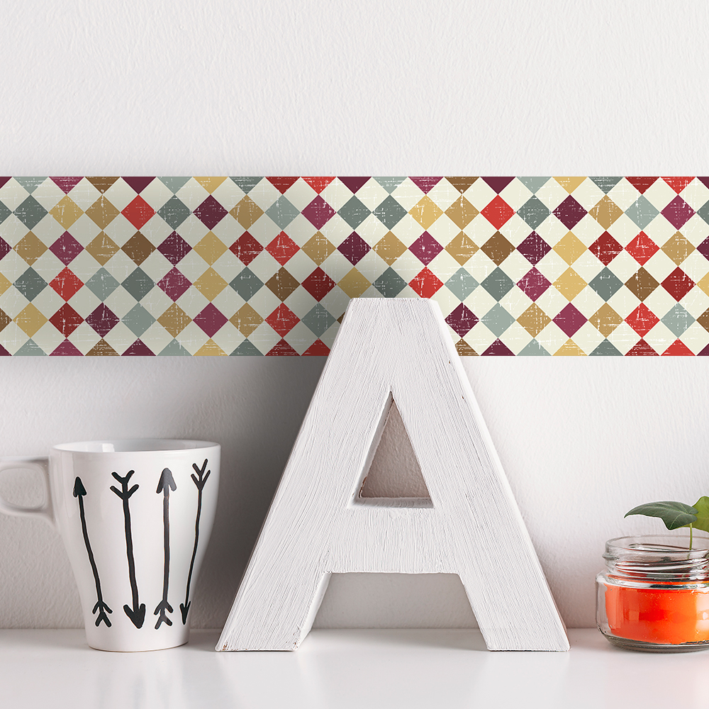 Modern Kitchen Wallpaper Borders: Funlife Wallpaper Borders,Decorative Wall Borders For