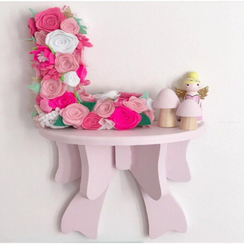 INS Nordic Decoration Macaron Bow On Wall Decorative Wall Shelf Wood Frame Props for Kids Room Decoration Shelf Supplie