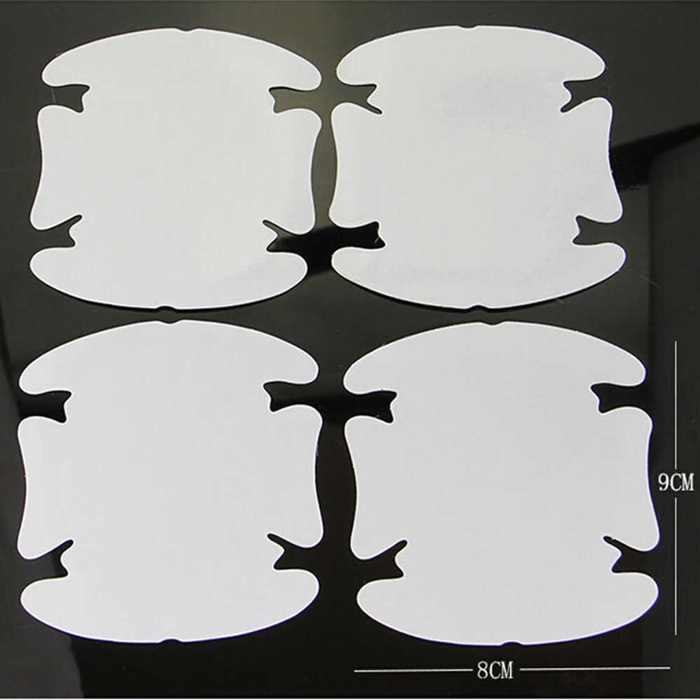 4 unids/lote manija de coche película de protección etiqueta engomada del coche para kia sportage 3 nissan x-trail t31 bmw x5 e53 ix35 kia rio 4 cruze touareg