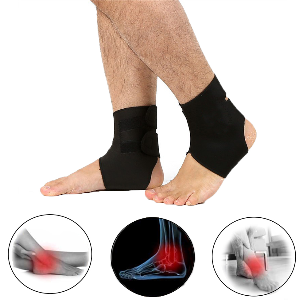 Ankle Tourmaline Self Heating Belt Terapia Magnetica Black Heated Foot Massager Support Brace Cintura Riscaldante Health Care