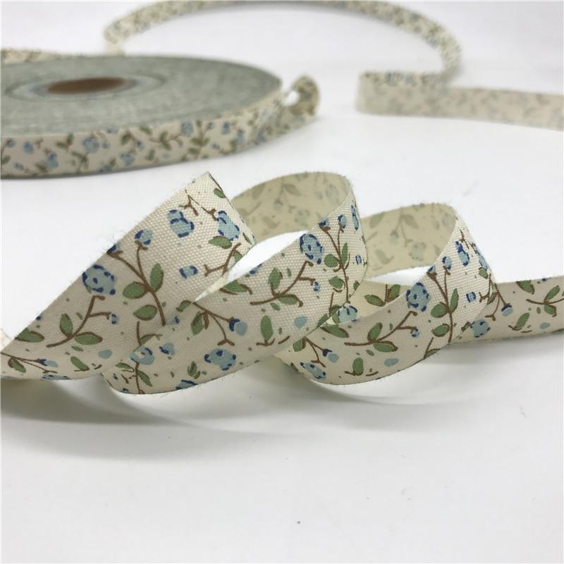 HTB1kXrfCKSSBuNjy0Flq6zBpVXaH 5 Yards/lot 15mm Cotton Ribbon Handmade Design Printed Cotton Ribbons For Wedding Christmas Decoration DIY Sewing Fabric