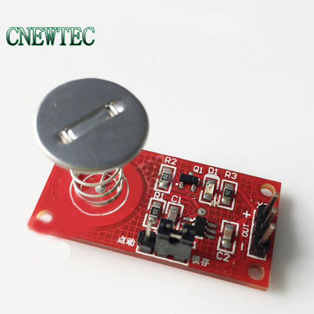 US $1 89 5% OFF|Touch key module Capacitive touch switch Non contact  buttons with Light type A-in Integrated Circuits from Electronic Components  &