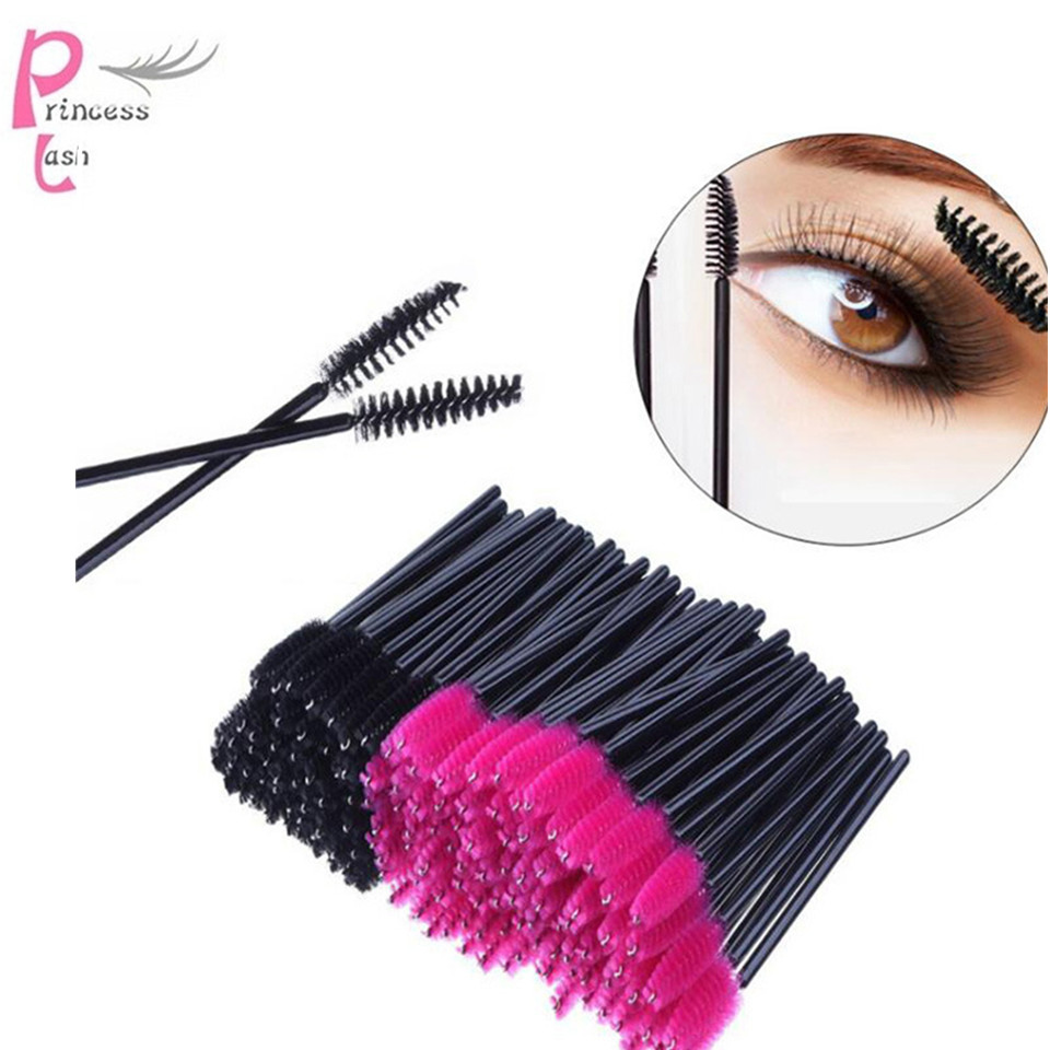 200 Pcs/Pack Disposable Micro Eyelash Brushes Makeup Lash Extension Mascara Applicator Wand Lip Beauty Makeup Tools