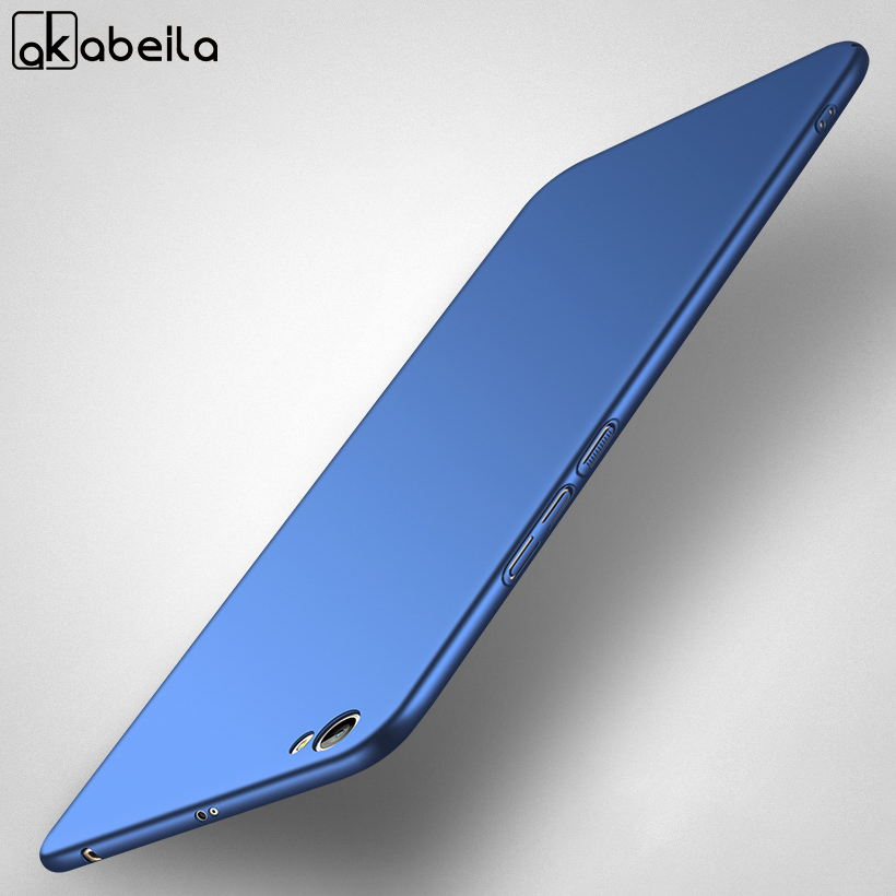 AKABEILA For Case Xiaomi Redmi Note 5A Case For Xiaomi redmi Y1 lite For xiomi redmi note 5a Coque Protection Oil-coated