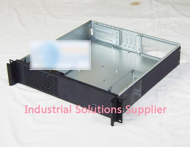 2u industrial computer case large-panel big power supply 450mm card 2u server computer case