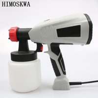 700ML400W Electric Spray Gun Removable High Pressure Cake Chocolate Tool With Adjustable Nozzle1 8mm Spool 2