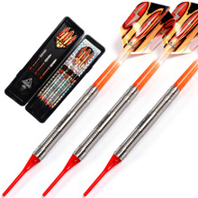 CUESOUL Swords Series 18 Grams 95% Tungsten Soft Tip Darts Set 015 cuesoul 18 grams soft tip tungsten darts 85