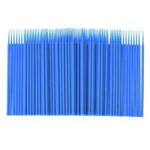 Image 5 - 100pcs / bag Disposable Eyelash Extension individual Micro Brush Applicators Mascara Wands for eyelash extension Tools wholesale