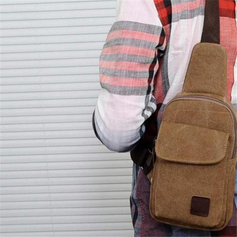 Multifunction Diagonal shoulder chest bag sports bag Men Outdoor Sport Leg Bag Canvas Waist Bag Money Belt Fanny Pack #2a (5)