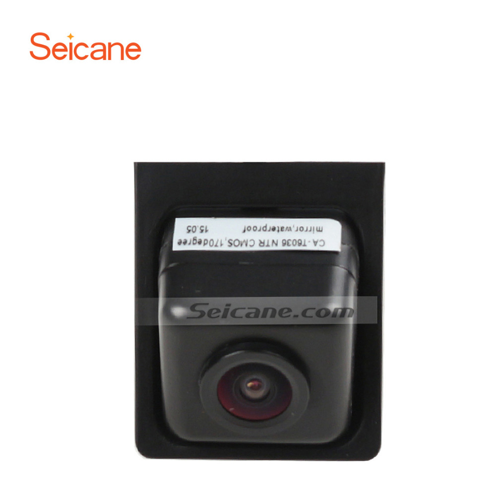 Seicane Hot selling for Ssangyong Korando Car Rear View Camera with four-color ruler and LR logo Night Vision free shipping