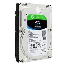 Seagate наблюдения 6 ТБ 7200 об/мин SATA 6 ГБ/сек. 3,5 дюйма 256 МБ кэш видео HDD внутренний жесткий диск для безопасности ST6000VX0023