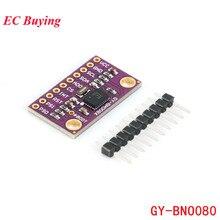 وحدة مستشعر BNO080 عالية الدقة وحدة مستشعر مغناطيسي بتسعة محاور لتسريع الدوران 9DOF AHRS GY  BNO080