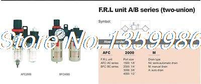 1pcs AirTAC Type 1/4 BSPT Air Regulator Filter Lubricator with Gauge 1000 L/min1pcs AirTAC Type 1/4 BSPT Air Regulator Filter Lubricator with Gauge 1000 L/min