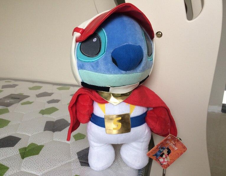 Новое прибытие Супермен Ститч плюшевые игрушки от Лило и Ститч чучела животных