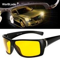 Hohe Qualität Gelb Nachtsicht Für Männlichen Nacht Fahren Polarisierte Sonnenbrille Platz Herren Fahrer Sicherheit Eyewears Bewölkten Nebel Tag