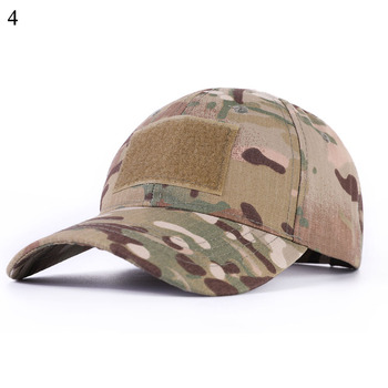 Unisex Camouflage Snapback Military Tactical Hat Patch Army Baseball Cap ACU CP Desert Camo Hats For Men Women