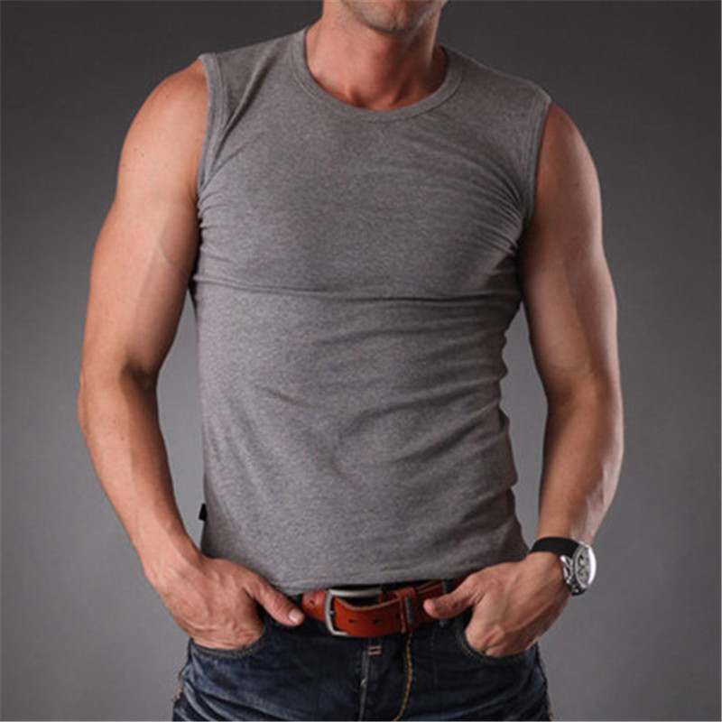 Buy 2017 body slim fit fitness solid Fitness shirts for men
