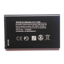 Original High Capacity BN-02 phone battery for Nokia XL 4G RM-1061 RM-1030 RM-1042 2000mAh