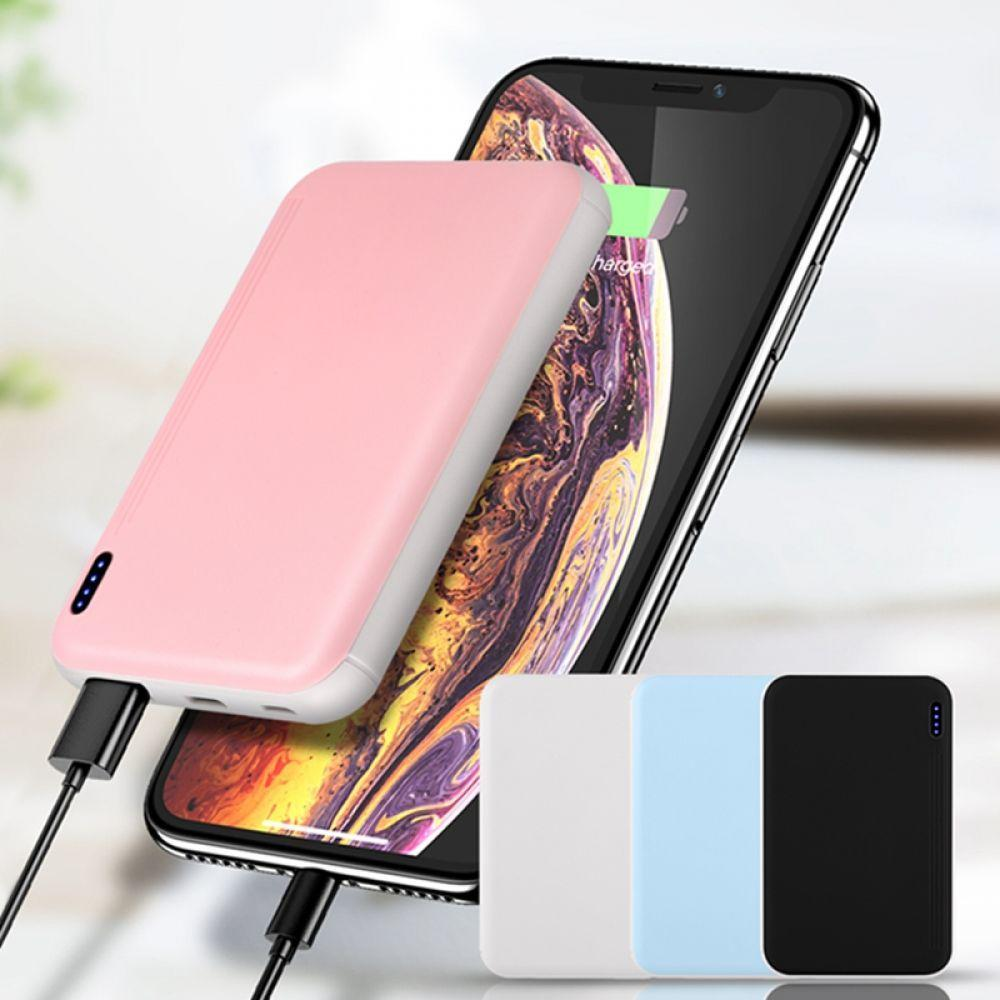 Hot 10000mAh Mini Power Bank For iPhone X 8 For Xiaomi Samsung S8 S9 Power Bank Portable Mobile Phone External Battery Poverbank