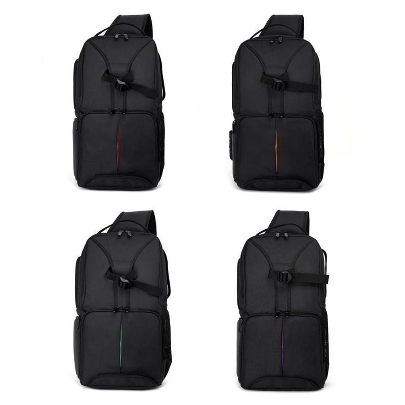 лучшая цена New Arrival Photography DSLR Camera Waterproof Shockproof Sling Shoulder Bag Outdoor Digital Camera Handbag for Nikon Canon