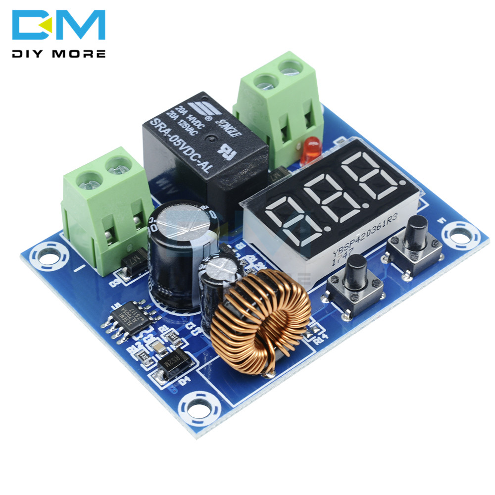 Image 4 - XH M609 DC 12V 36V Charger Module Voltage OverDischarge Battery Protection Precise Undervoltage Protection Module  Board-in Integrated Circuits from Electronic Components & Supplies