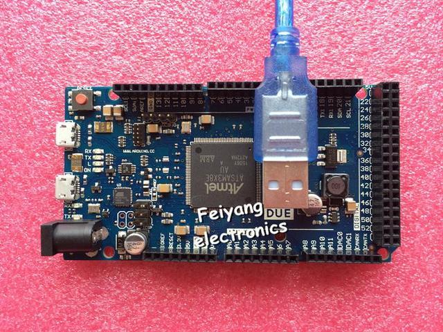 Devido R3 ARM Versão Placa de Controle Principal com cabo usb para arduino