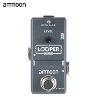 Ammoon AP 09 Nano Loop Effect Pedal Looper Electric Guitar Effect Pedal True Bypass Unlimited Overdubs