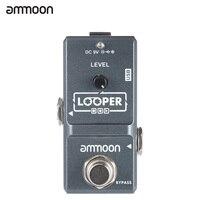 Ammoon AP 09 Nano Loop Effect Pedal Looper Electric Guitar Effect Pedal True Bypass Unlimited Overdubs