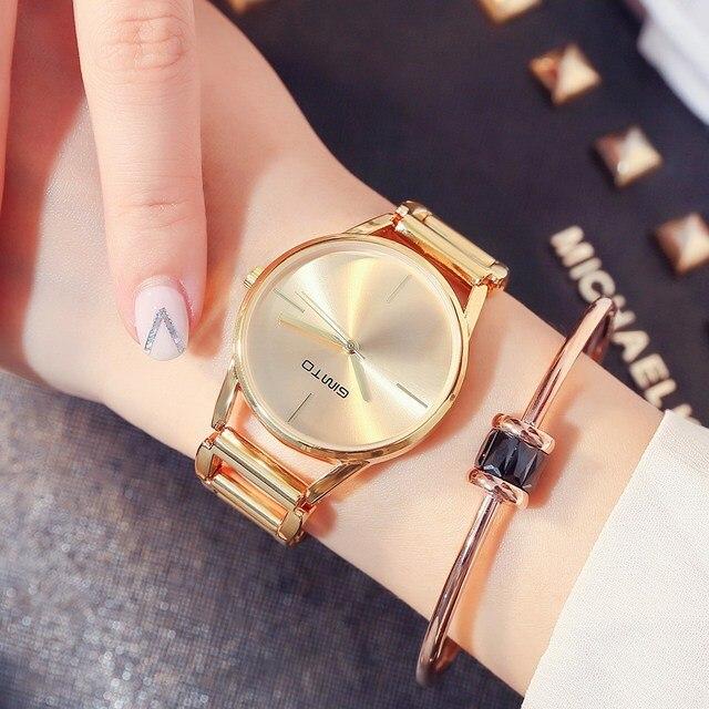 cf03ea4b2a7d Relojes de pulsera de oro rosa de la marca 2018