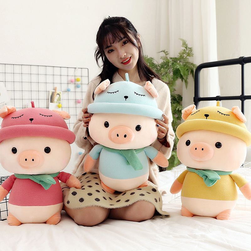 Random Color sea lion pillow plush toy children birthday gift cute kawaii animal doll sleep soft sofa decoration 22cm(China)
