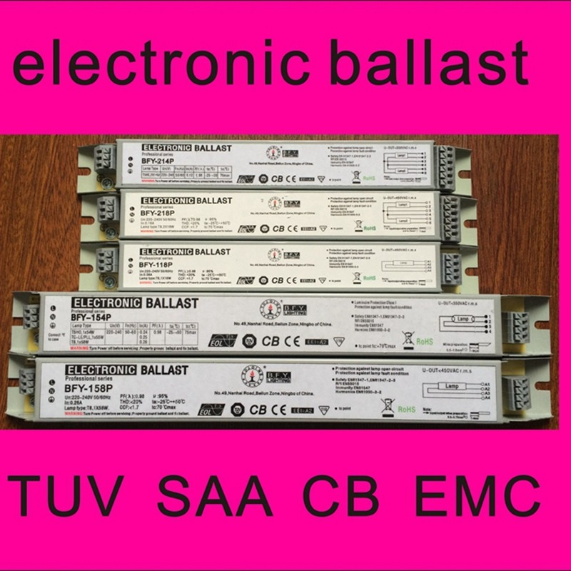 t8 elektronisk ballast TJB-E218P elektronisk ballast for - Helsevesen - Bilde 1