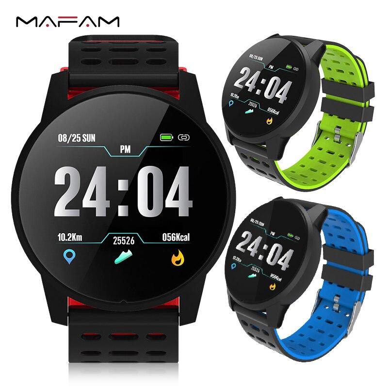 MAFAM Smart Watch Men Women Heart Rate Blood Pressure Oxygen Monitor Fitness Tracker Alarm Reminder Smartwatch Clock Sport Watch умные часы smart watch y1