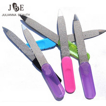10Pcs Double Sided Metal Nail Files Manicure Pedicure Tool S