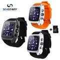 SW16 Smart Watch Android 4.4 IP67 Waterpoor 3 Г SIM TF Карты WiFi GPS 3-МЕГАПИКСЕЛЬНОЙ Камерой Спорт Smartwatch для Android Телефоны Хорошего, Чем X01