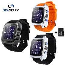SW16 Elegante Reloj Android 4.4 IP67 A Prueba de agua 3G SIM Card TF WiFi GPS 3MP Cámara Deporte Smartwatch para Android Teléfonos GoodThan X01