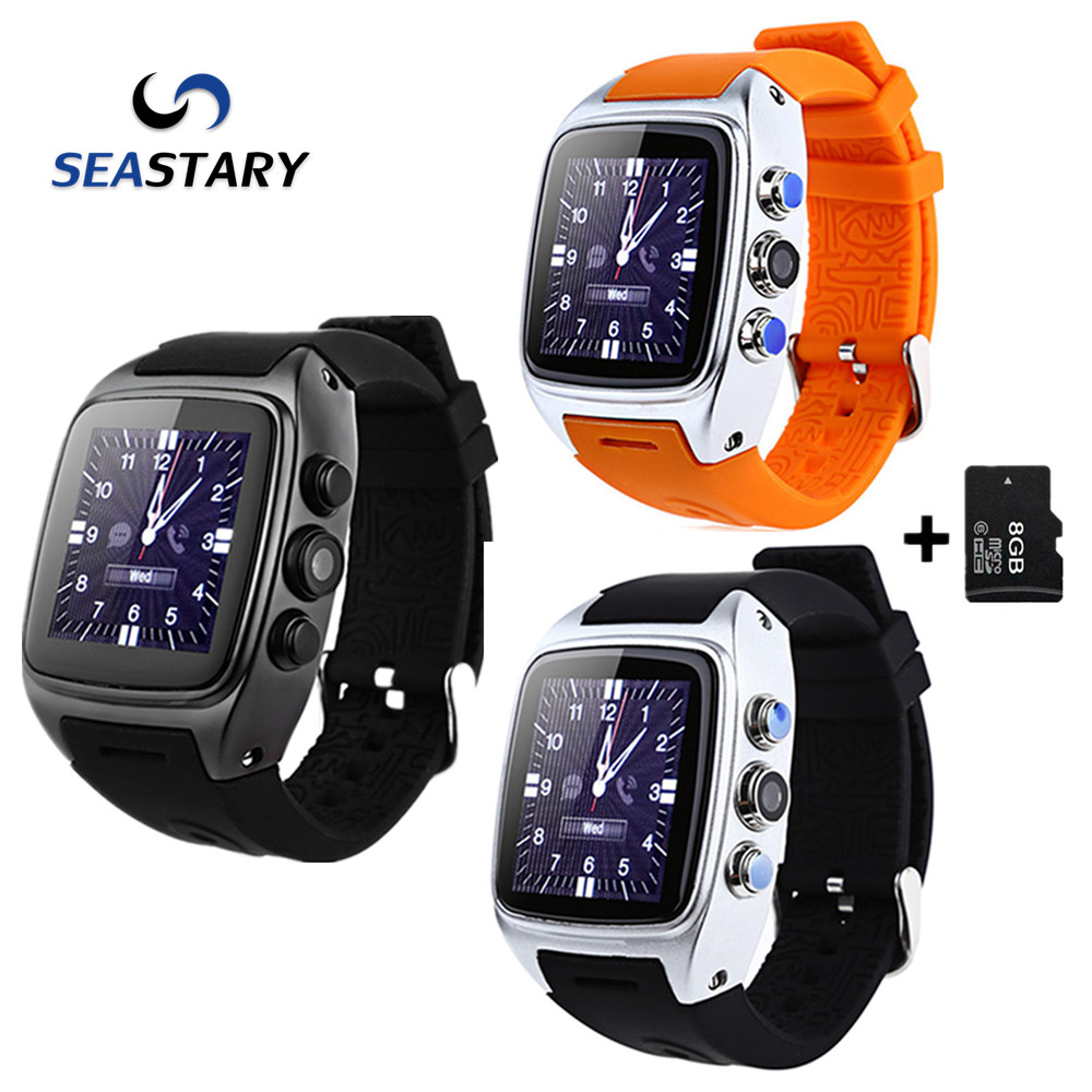 SW16 Smart Watch Android 4.4 Waterpoor IP67 3G SIM TF Card WiFi GPS 3MP Camera Sport Smartwatch for Android Phones Good Than X01